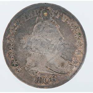 United States Draped Bust Half Dollar 1806