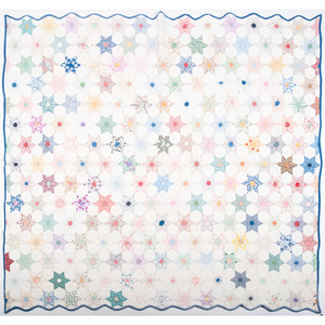 Appliqué and Pieced Star Quilts
