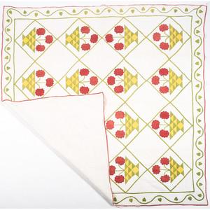 Floral Appliqué Quilts
