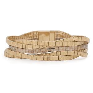 18 Karat Bicolor Gold Bracelet