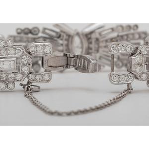 Platinum Art Deco Diamond Bracelet