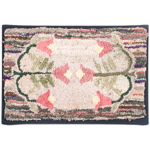 Floral Hooked Rugs