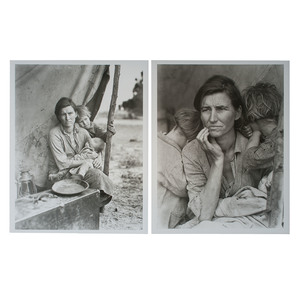 Dorothea Lange, Migrant Mother, 1936, Series of Four Photographs