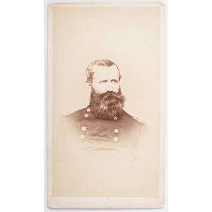 Brigadier General Alex Hays Signed CDV