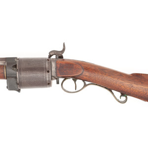 J&J Miller Fullstock Pill Lock Revolving Rifle