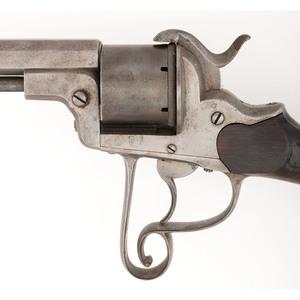 Belgian Made Revolving Pinfire Rifle