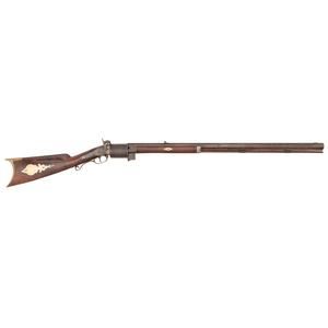 Half-Stock Revolving Pill Lock Rifle By T.P. Cherington