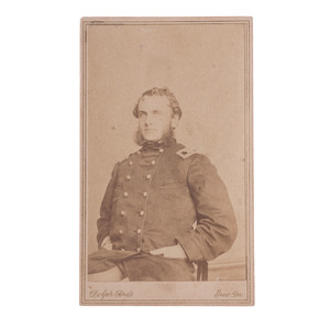 Brigadier General Strong Vincent, 83rd Pennsylvania Volunteers, CDV