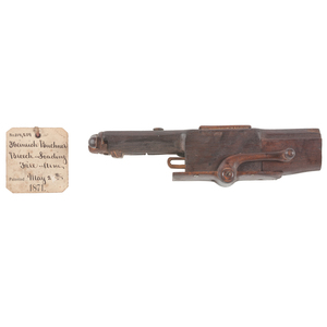 Heinrich Buchner Breech Loading Firearm Patent: Model No. 114,259 May 2, 1871