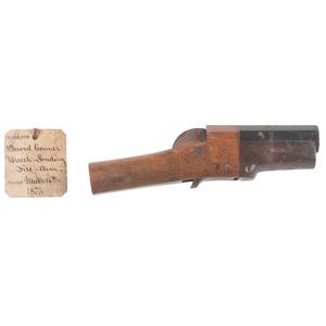David Conner Breech Loading Firearm Patent: Model No. 160,880 March 16th 1875