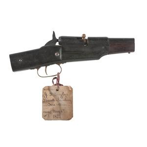 J.P. Taylor Breech Loading Firearm Patent: Model No. 138, 711