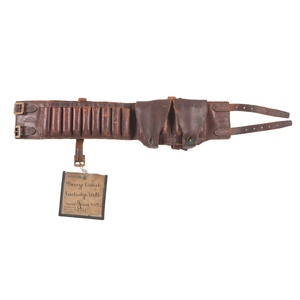 George Crouch Cartridge Belt Patent: Model No. 243,363 May 8, 1878