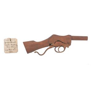 Joseph Duval Breech Loading Firearm Patent: Model No. 112,565 March 14, 1871