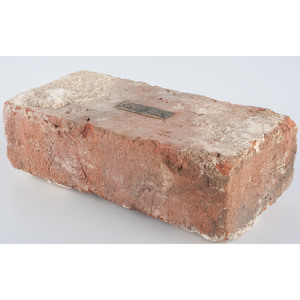 Original White House Brick Removed During the 1949-1952 Truman Reconstruction