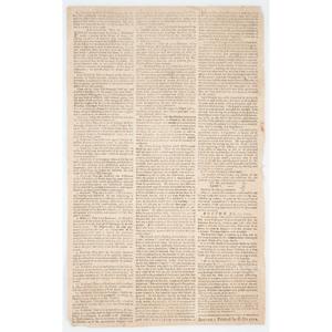 Boston Massacre Supplement to the Massachusetts Gazette and Boston News-Letter, July 26, 1770