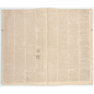 Rivington's New-York Gazetteer,  Rare Colonial American Newspaper with Reactions to the Intolerable Acts, September 1774