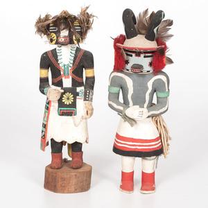 Hopi Panwu and Honan Katsinas, From the Collection of Charles McNutt Sr.