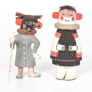Hopi Kwikwilyaqa AND Hahai-i Wu-uit Katsinas
