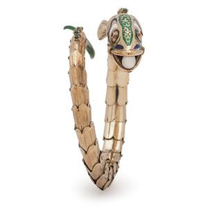 14 Karat Gold Fish Bracelet