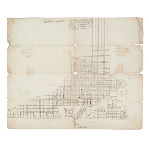 Missouri Territory Collection of Early Documents, Including Map of New Madrid, Plus