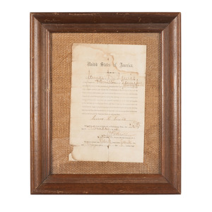 Oath of Loyalty to the Union, Administered to James C. Lewis of Hamilton County, Tennessee, 1864