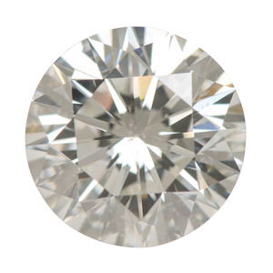 GIA Certified 3.06 Carat Round Brilliant Cut Diamond