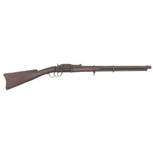Unmarked Two-Barreled Revolving Cartridge Carbine