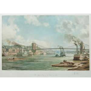 John Stobart (British, b. 1929) Lithographs