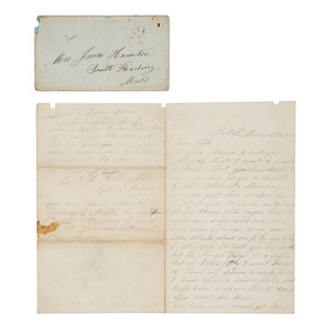 Letter Archive of James Harnden, 4th MA Heavy Artillery