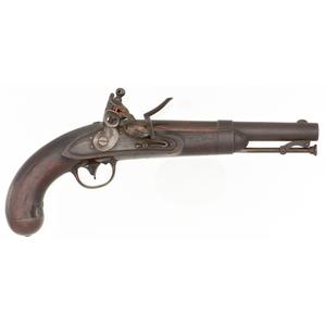 Johnson Contract U.S. Model 1836 Flintlock Pistol