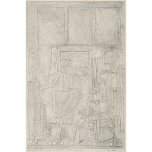 Pierre Louis Maurice Courtin (French, 1921-2012) - 7/8 Etchings