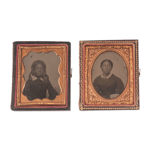 Ninth Plate Ambrotypes of African American Women