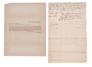 Two Confederate Slave Documents