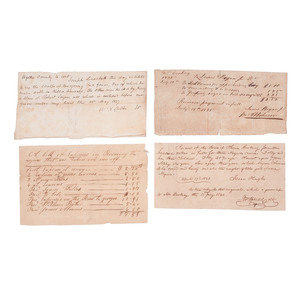 Documents Relating to Miscellaneous Issues of Slaves and Freemen, Verification of Manumission, Medical Care, and More