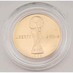 United States World Cup Tournament Commemorative Gold $5 1994-W