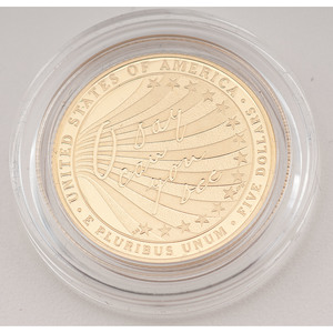 United States Star-Spangled Banner $5 Gold 2012-W, Proof