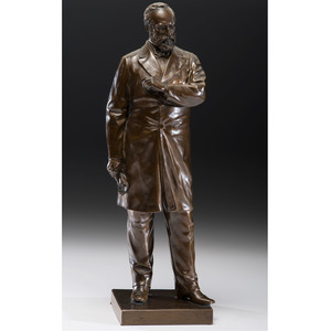 James A. Garfield Bronze by Louis T. Rebisso