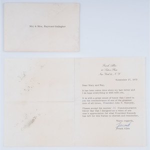Memorabilia from the Kennedy Inner Circle