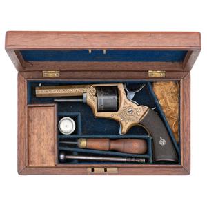 Cased W&C Scott Pocket Revolver