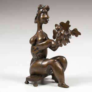 Alexandra Nechita (Romanian-American, b. 1985) Bronze