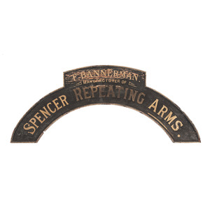 Bannerman's Spencer Repeating Arms Sign