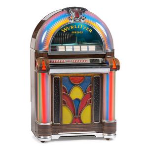Wurlitzer Jukebox, Model 1050, Plus Remote Jukebox