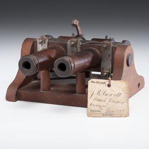 Joseph.B. Prescott Breech Loading Cannon Patent: Model No. 34,263 January 28, 1862