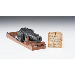 William.S. Henson Breech Loading Ordnance Patent: Model No. 33, 646 November 5, 1861