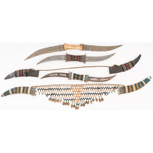 Sudanese Haladie Double Blade Daggers