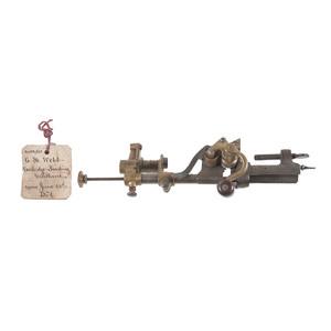 C.H. Webb Cartridge Loading Machine Patent: Model No. 152, 263