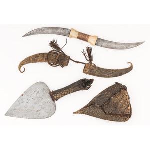 Sudanese Haladie Double Blade Dagger PLUS