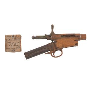 William.H. Elliott Magazine Firearm Patent: Model No. 218,371 February 19, 1879