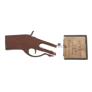 Andrew Burgess Magazine Gun Patent: Model No. 129, 523