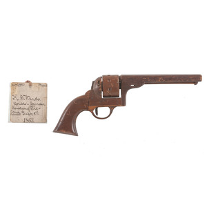 H.D. Ward Double-barreled Revolving Firearms Patent: Model No. 39, 850